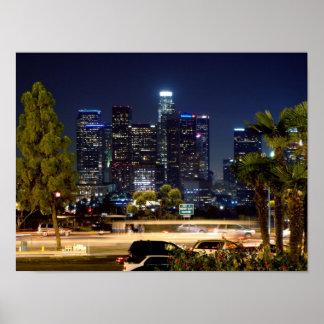 Poster Los Angeles du centre