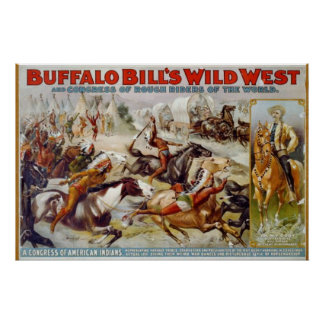 Poster L'ouest sauvage de Buffalo Bill
