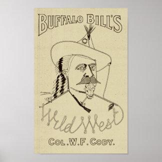 Poster L'ouest sauvage de Buffalo Bill - histoire