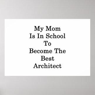 Poster Ma maman est à l'école à devenir la meilleure