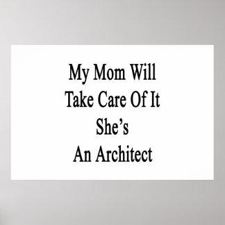 Poster Ma maman prendra soin de lui qu'elle est une