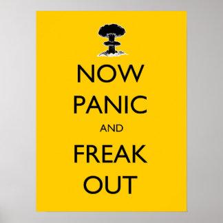 Poster Maintenant la panique et Freak l'affiche