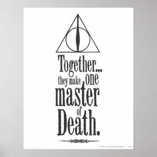 Poster Maître du charme | de Harry Potter de la mort