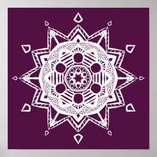 Poster Mandala de Blackberry