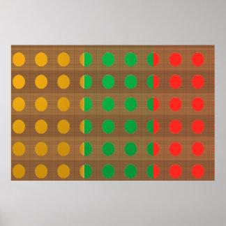 Poster Manie de couleur de MERVEILLE : MANIE BASSE de