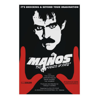 Poster Manos : Les mains du destin