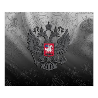 Poster Manteau des bras russe