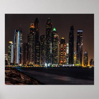 Poster Marina de Dubaï