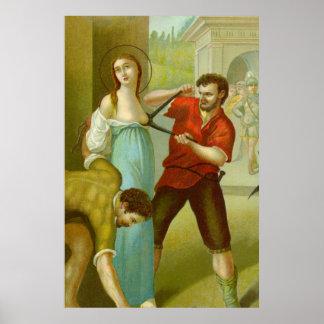 Poster Martyre de St Agatha (M 003)