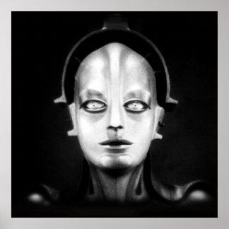 Poster Maschinenmensch de Fritz Lang