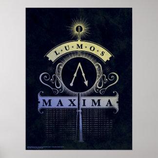 Poster Maximum du charme | Lumos de Harry Potter