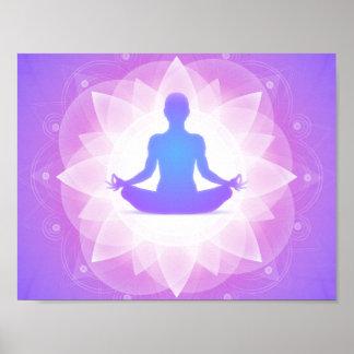 Poster Méditation de yoga