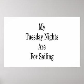 Poster Mes mardi soirs sont pour la navigation