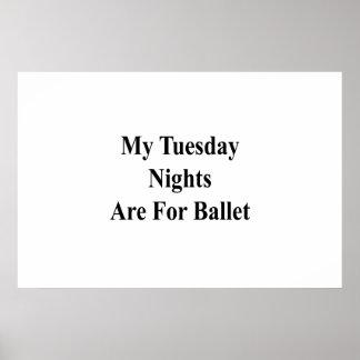 Poster Mes mardi soirs sont pour le ballet