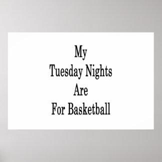 Poster Mes mardi soirs sont pour le basket-ball