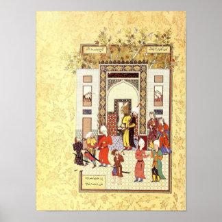 Poster Miniature persane : L'innocence de Yusuf