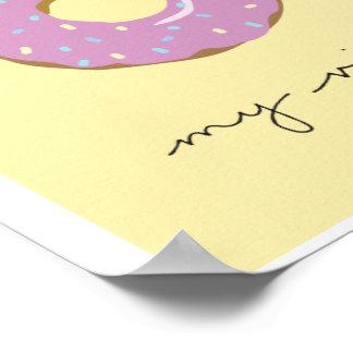 Poster Mise à mort de beignet mon Vibe