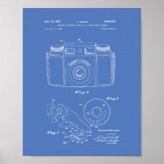Poster Modèle d'art de brevet de l'exposition automatique