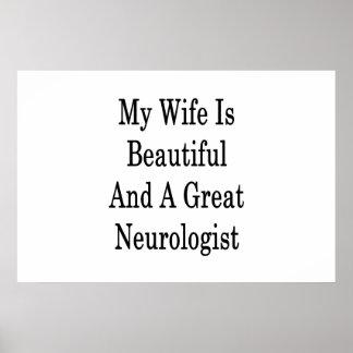 Poster Mon épouse est belle et une grande neurologue