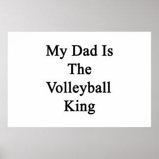 Poster Mon papa est le roi de volleyball