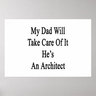 Poster Mon papa prendra soin de lui qu'il est un