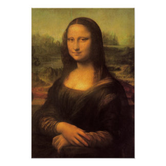 Poster Mona Lisa de Leonardo da Vinci