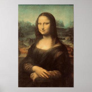 Poster Mona Lisa par Leonardo da Vinci