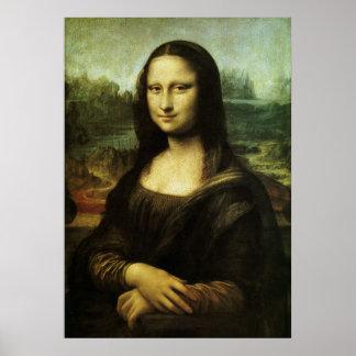 Poster Mona Lisa par Leonardo da Vinci, art de