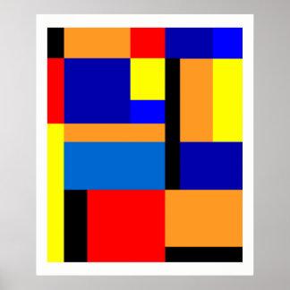 Poster Mondrian #35