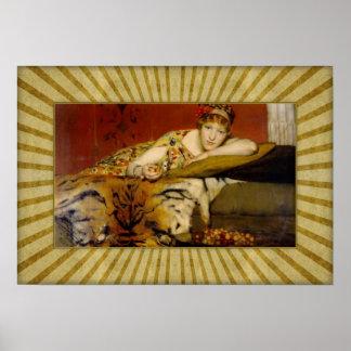 Poster Monsieur Lawrence Alma-Tadema - cerises