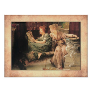 Poster Monsieur Lawrence Alma-Tadema - comparaisons