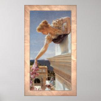 Poster Monsieur Lawrence Alma-Tadema - vitesse de Dieu !