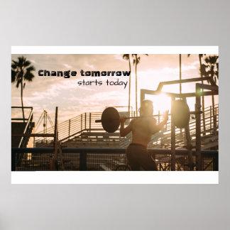 Poster Motivation de matin