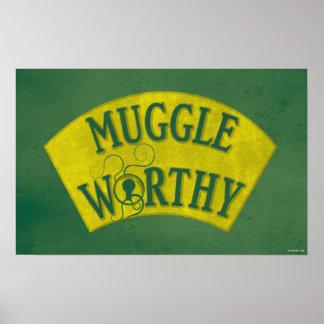 Poster Muggle digne