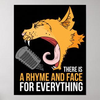 Poster Musique de chat