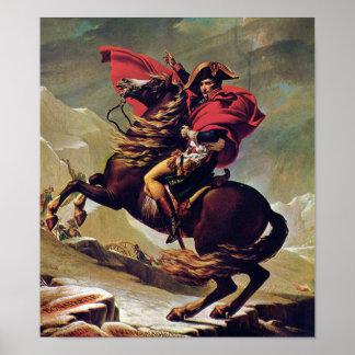 Poster Napoleon Bonaparte à cheval