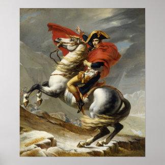Poster Napoléon croisant les Alpes