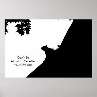 Poster N'ayez pas peur que ..... allez après votre