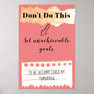 Poster Ne vous minez pas : Bon conseil