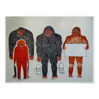 Poster Neanderthal et 3 amis,