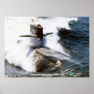 POSTER NOUVELLES D'USS NEWPORT