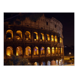 Poster nuit Colosseum