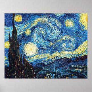 Poster Nuit étoilée par Vincent van Gogh