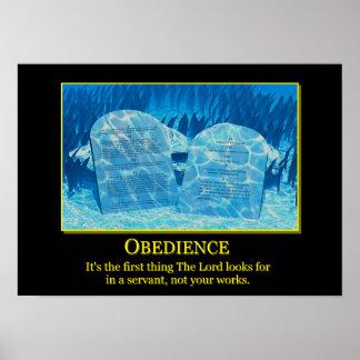 Poster Obéissance