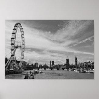 Poster Oeil de Londres