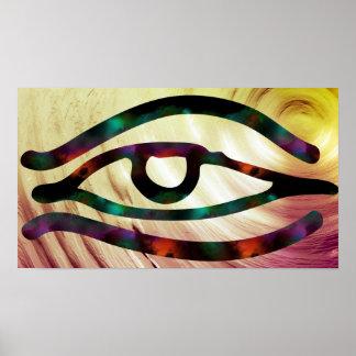 Poster Oeil égyptien