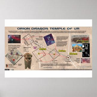 Poster Orion - temple de dragon d'Ur 1