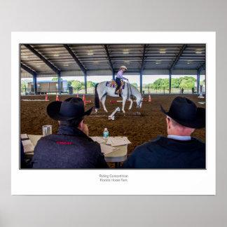 Poster Parc de cheval de la Floride