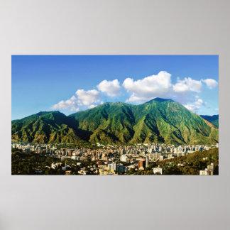 Poster Parc national d'Avila, -16:9 de Caracas, Venezuela