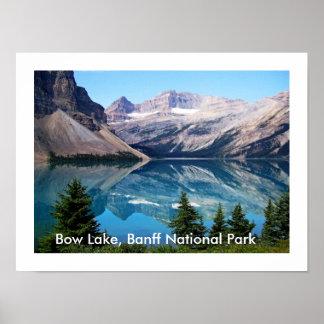 Poster Parc national de lac bow, Banff, Canada
